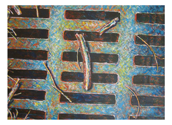 art prints - On the grate by Mandy Wilson