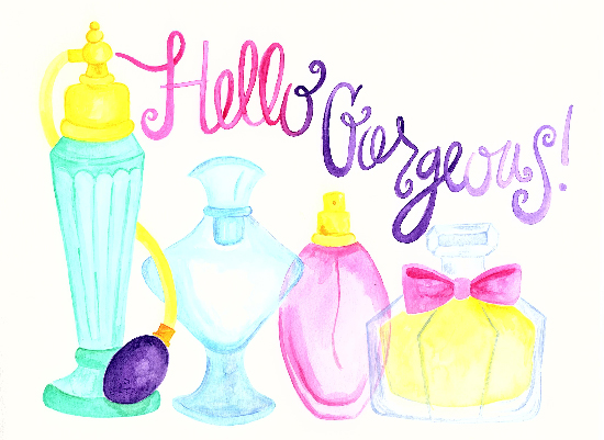 art prints - Hello Gorgeous by Emily Welch