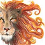 Aslan Lion by Meg Smiley