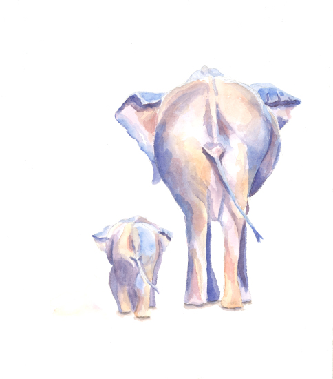 art prints - Big and Little 3 by Stacey Brod