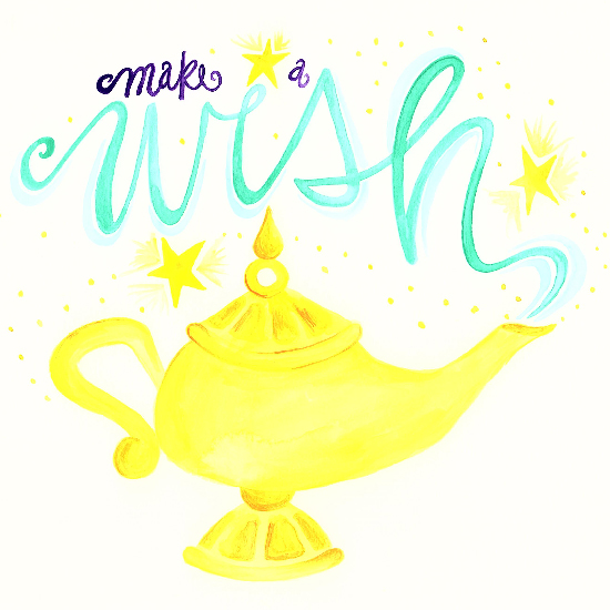 art prints - Make Your Wish by Emily Welch