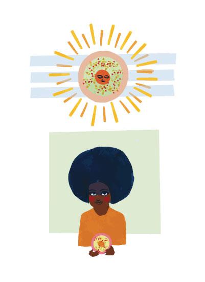 art prints - Donut Sunshine by Lisa Luck