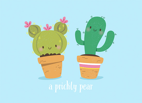 art prints - Prickly