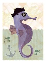 Seahorse Pirate by Amanda Staniszewski