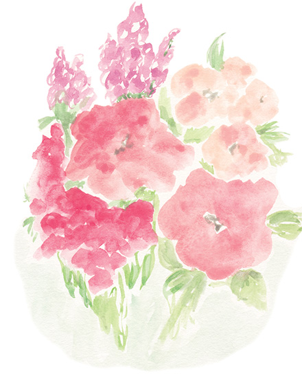 art prints - Blush Blooms by Lauren Young