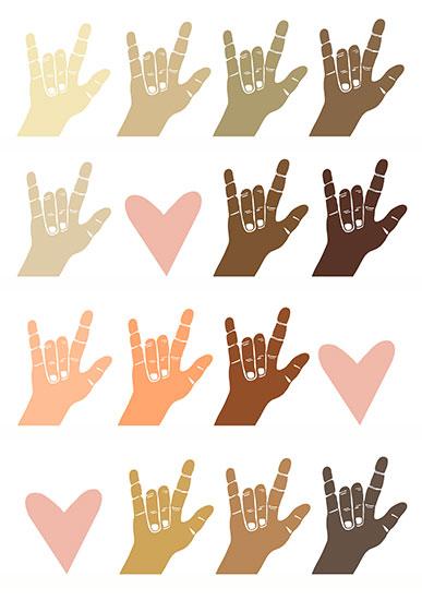 art prints - Colorblind Love by Hailey Erickson