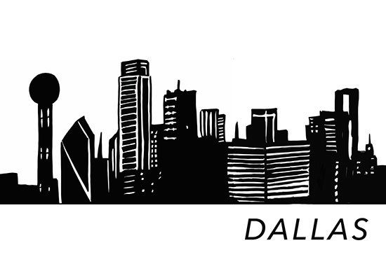 art prints - Dallas is Home by Hailey Erickson