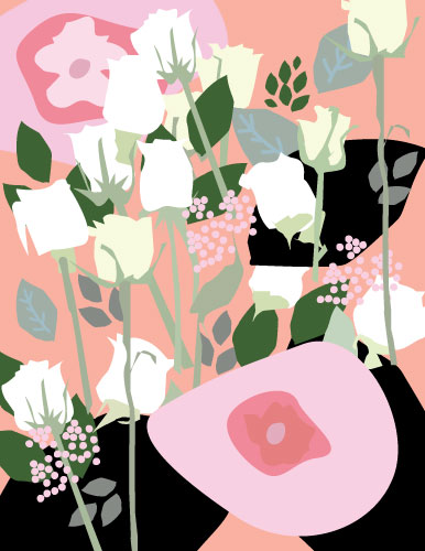 art prints - roses a flutter by Studio 1.8 Art and Design