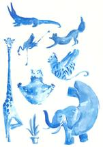 Yoganimals by Hattny Studio