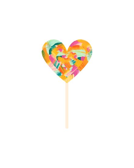 art prints - Lolli Pop! by Amanda Graus - All Things Pretty Blog