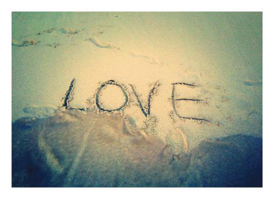 art prints - Waves of Love by SJ Design