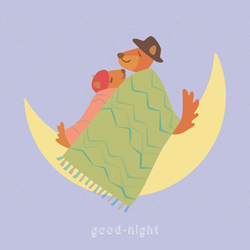 art prints - good-night by LIAN