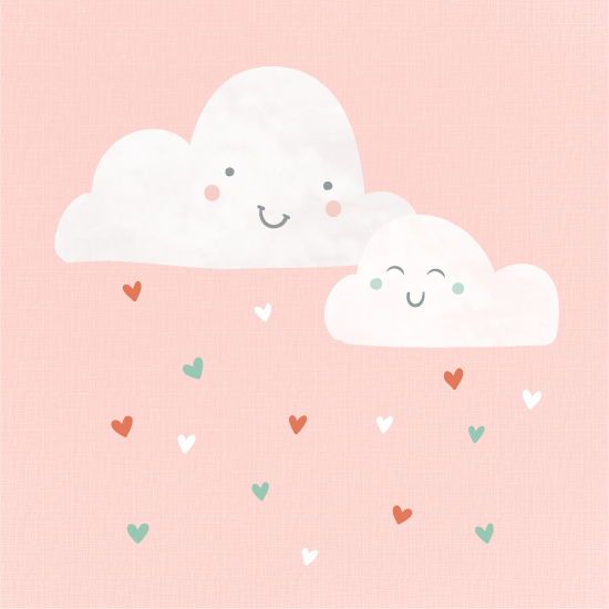 art prints - Happy Clouds by Annie Holmquist