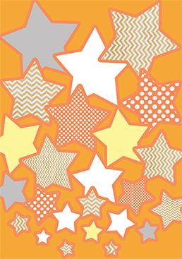 art prints - Cascading Stars by Ramona Bell