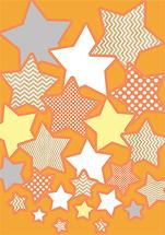 Cascading Stars by Ramona Bell