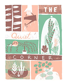 art prints - The Quiet Corner by Cait Brennan