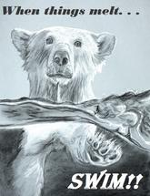 Polar Swim by Noelle