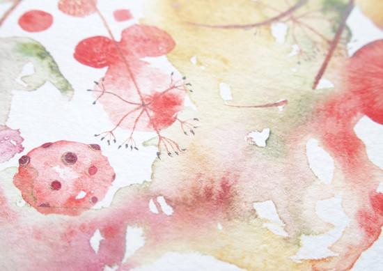 art prints - Toadstool by Nina Lewis