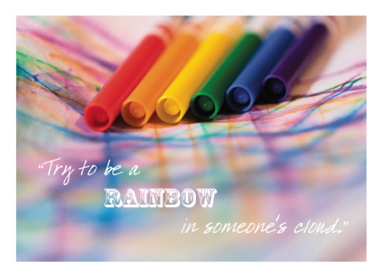 art prints - Be the Rainbow by Nely McMullen