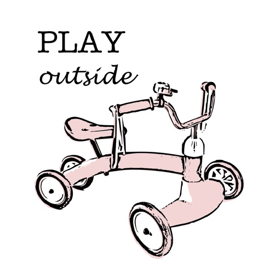 art prints - play outside by Carmelina Faraci