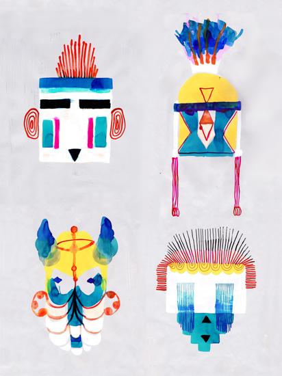 art prints - Mask Group by Sara Christian
