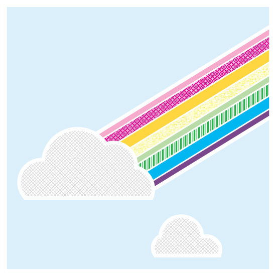 art prints - Rainbow Connection by Moy Creative