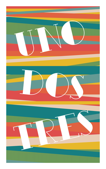 art prints - Uno dos tres by Thoroughly Curly Designs
