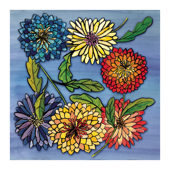 art prints - Chrissy's Garden by Sabrina Hoeke
