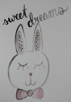 art prints - bunny dreams by Kathleen Baldwin