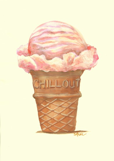 art prints - Chill Out bright by Andi Barbuto