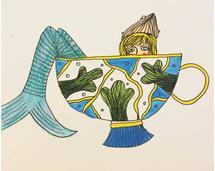 Taste of Mermaid Tea by Kelly K. Mackura