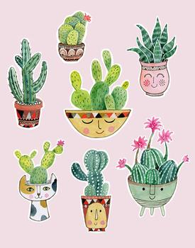 Cactus Pot Personalities