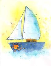 Sailing, Sailing by Kathy Jurek
