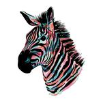 Be Yourself Zebra by Elizabeth Atlas