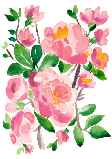 art prints - Country Botanicals by Michelle Mospens