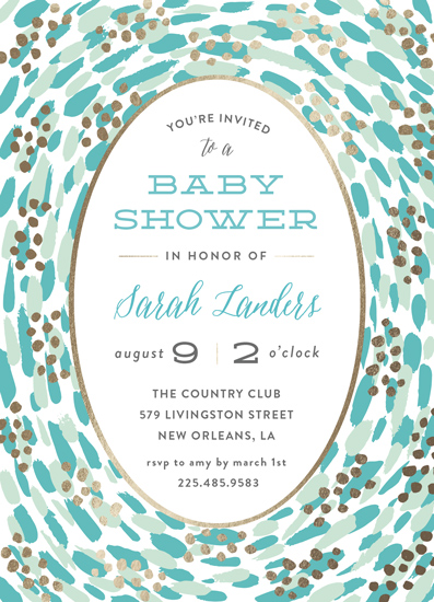 baby shower invitations - In the womb by Chasity Smith