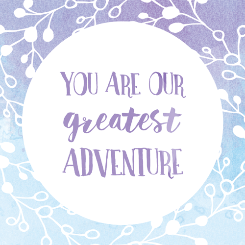 art prints - Greatest Adventure Watercolor by D.Cramer Designs