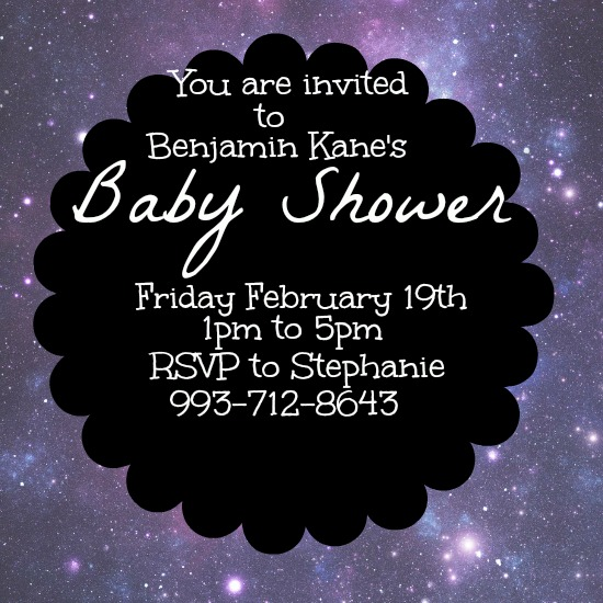 baby shower invitations - Out of This World by Kayla Pisto