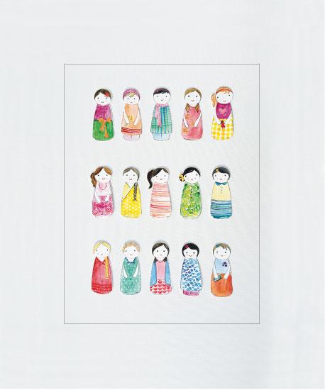 art prints - Dolls by Priya