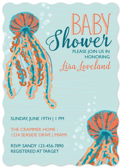 baby shower invitations - Jellies by Melissa Alexander