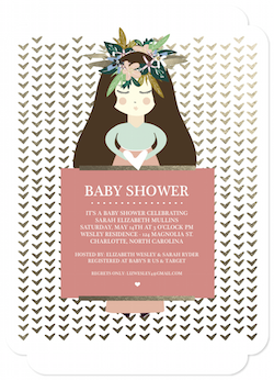 baby shower invitations - Mother To Be by Danielle Dorton