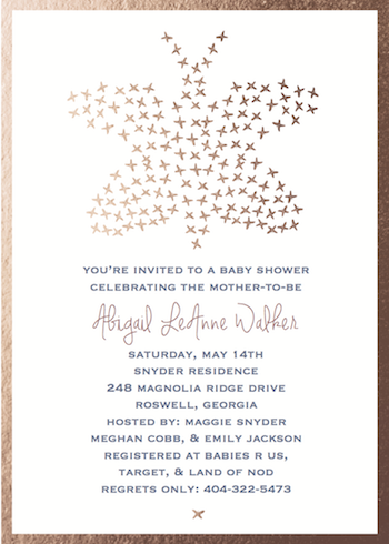 baby shower invitations - Butterfly Baby by Danielle Dorton