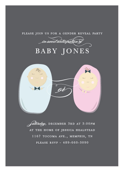 baby shower invitations - Pods by Bethany Anderson