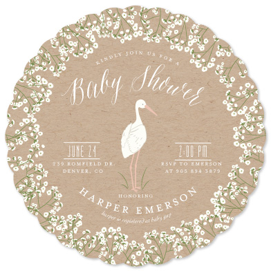 baby shower invitations - Baby's Breath by Susan Moyal