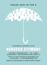 Baby shower Umbrella by Nicholas Leija