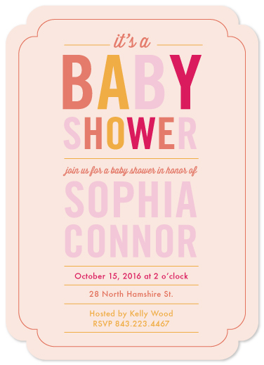 baby shower invitations - Hip To Be Baby by Becky Hoppmann