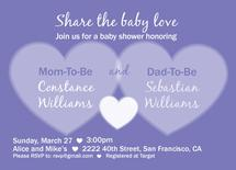 Share the baby love by MJ Roebuck