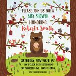 Woodland Baby Shower by Sole Catel