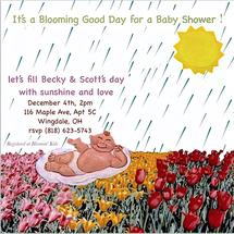 Blooming' Baby Shower by Missy Kaolin