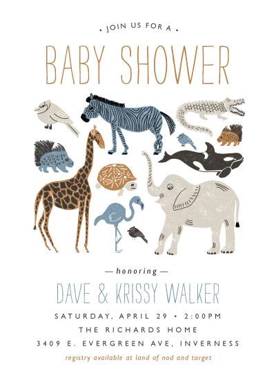 baby shower invitations - Wild Ride by Beth Schneider